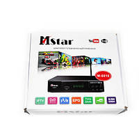 Цифровой ТВ тюнер Т2 MSTAR M-6010 с Wi-Fi, USB, YouTube