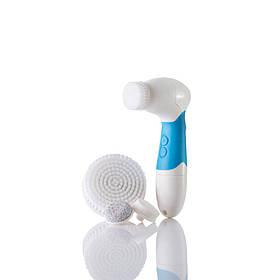 Электрическая Щетка для умывания и чистки лица Spa Fx (Blue)