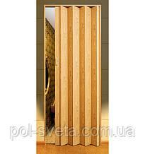 Двері гармошка Melody світлий дуб