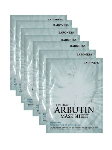 Тканевая маска Baroness Airlaid Face Mask ARBUTIN