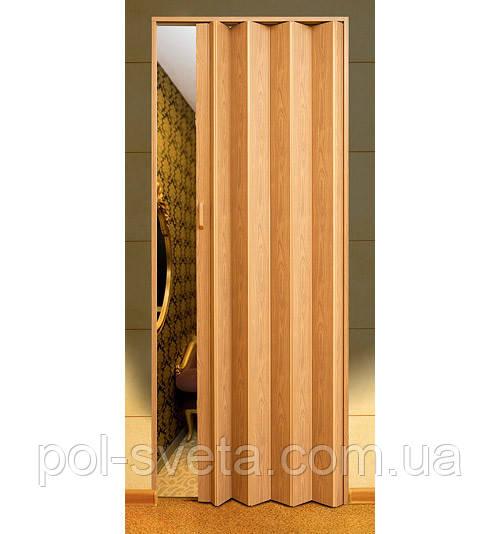 Дверь гармошка Melody дуб