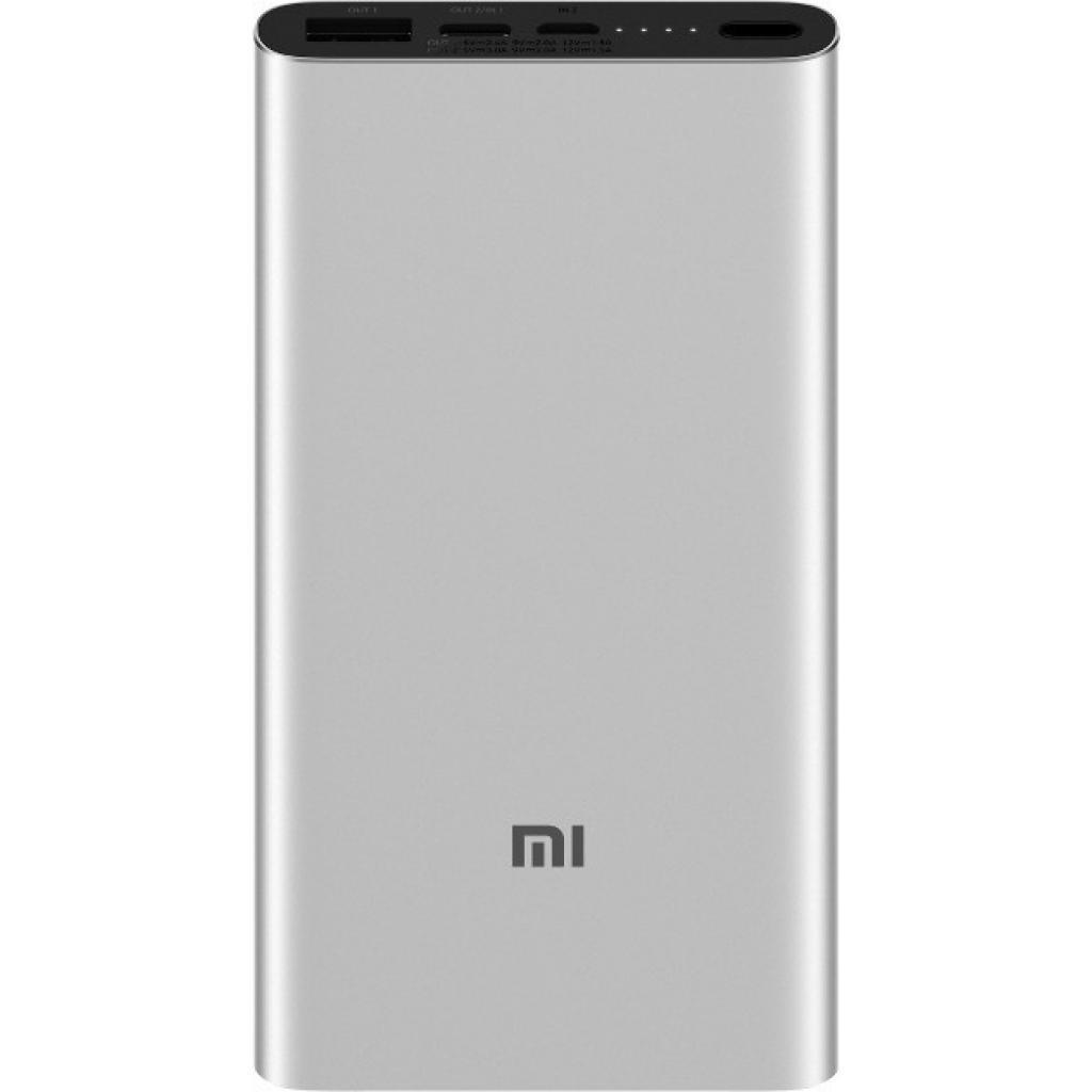 Батарея универсальная Xiaomi Mi Power bank 3 10000mAh QC3.0(Type-C), QC2.0(USB) Silver (PLM12ZM)