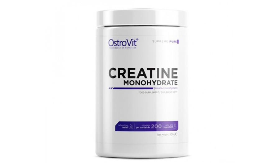 Креатин Ostrovit Creatine Monohydrate  500g. (ЗЕЛЕНОЕ ЯБЛОКО)