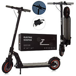 Электросамокат ES 2-011 черный
