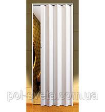 Двері гармошка Melody арктичний білий