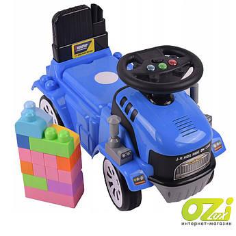 Детская машинка-каталка JR-916A-1 blue