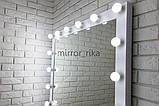 Большое настенное  зеркало с подсветкой, бьютизеркало  1000х800 мм  Вуди  5000, фото 2