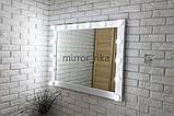 Большое настенное  зеркало с подсветкой, бьютизеркало  1000х800 мм  Вуди  5000, фото 3