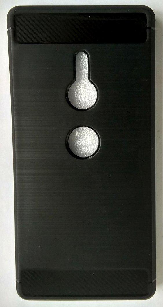 Силиконовый чехол для Sony XZ2 black