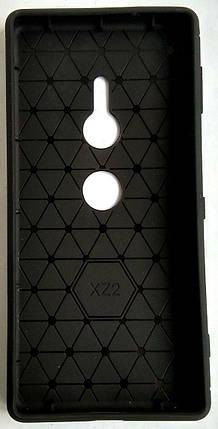 Силиконовый чехол для Sony XZ2 black, фото 2