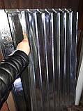 Профнастил оцинкованный ПС-10. Высота 2 м. Ширина 0,95м, фото 2