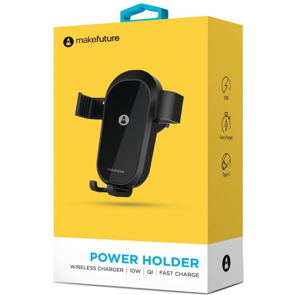 Зарядное устройство MakeFuture Wireless PowerHolder 10Вт (MQI-P101WH)