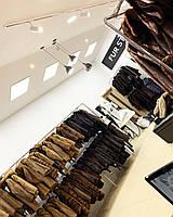 Довга класика натуральна норкова шуба хорошої якості 48 50 46 розмір
