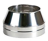 Конус с теплоизоляцией нерж Версия Люкс толщина 0.6 мм D 100-300 мм