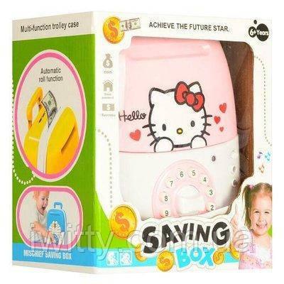 Копилка-сейф с кодом Hello Kitty