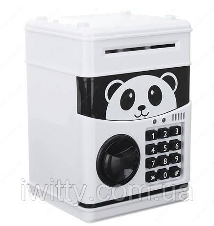 Копилка-сейф с кодом Панда, фото 2