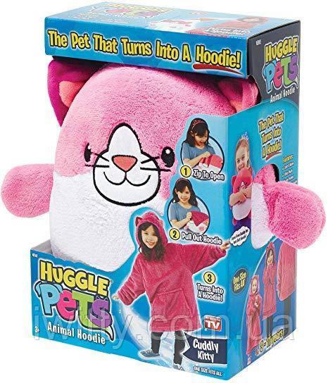 Детская толстовка - Snuggly Putty 3-11лет (Кот)