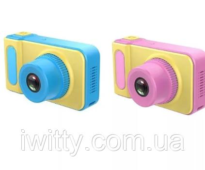 Детская фото-камера Summer Vacation (желтый), фото 2