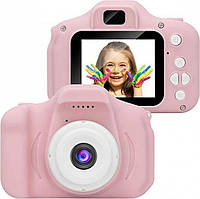 Детская фото-камера Summer Vacation (Розовый)