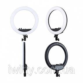 Кольцевая LED лампа кольцевая  с зеркалом, фото 2