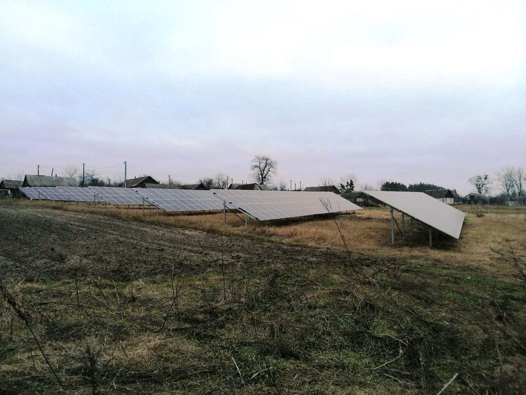 """Головенка сонячна електростанція під """"зелений"""" тариф потужністю 120 кВт EGing PV + Huawei Житомирська область"""