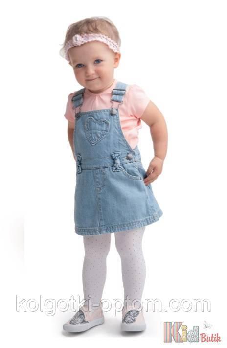 ОПТОМ Колготки для девочки Piccola 40den (68-74 / 6-12 мес.)  Knittex 5906906004096