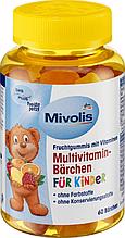 Вітамінний комплекс для дітей Mivolis Multivitamin-Bärchen 60 шт