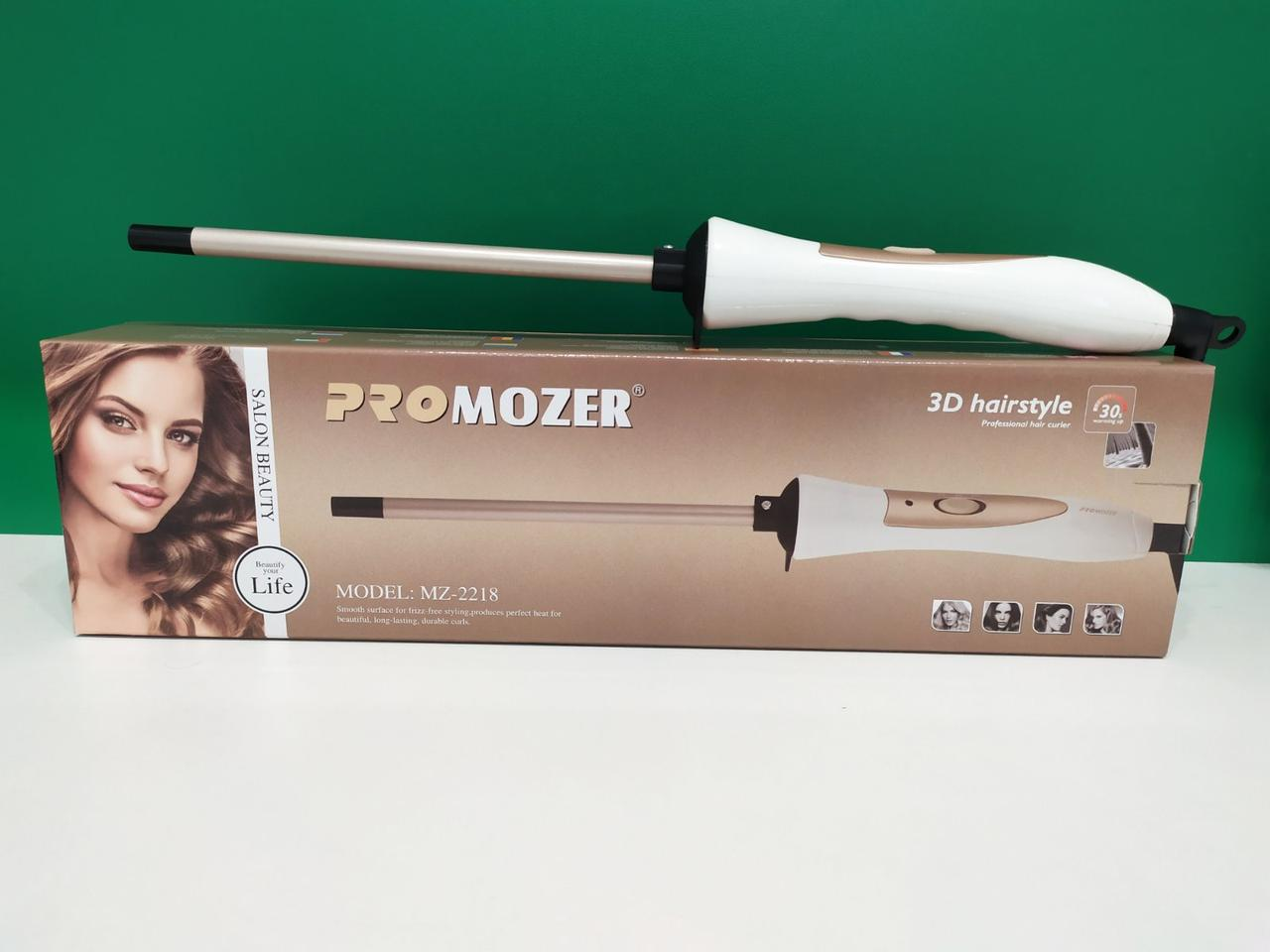 Плойка для волос афрокудри Pro Mozer MZ-2218 9 мм афро плойка для завивки волос Mozer 2218 локон афроплойка