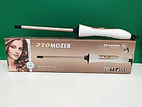 Плойка для волос афрокудри Pro Mozer MZ-2218 9 мм афро плойка для завивки волос Mozer 2218 локон афроплойка, фото 1