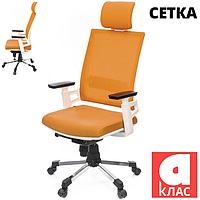 Кресло АКЛАС Джемур W CH SR Оранжевое