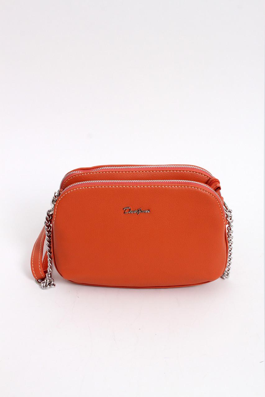 Оранжевая  кросс-боди из новой коллекции  для casual стиля