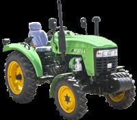 Трактор JINMA JMT3244HX (ГУР, несколько выходов гидравлики, компрессор, сиденье на пружине, доп. грузы)