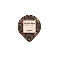 Успокаивающая маска с черным чаем heimish black tea mask pack  (миниатюра)