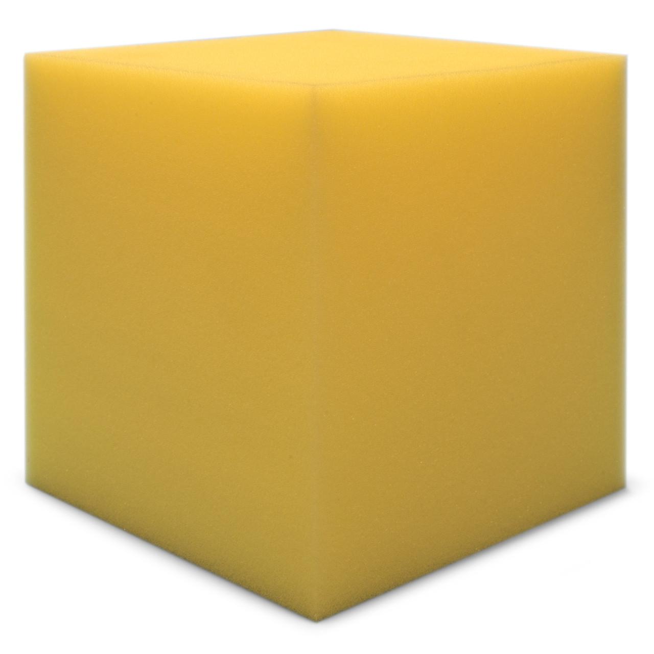 Бас пастка Ecosound КУБ кутовий 15х15х15 см Колір жовтий