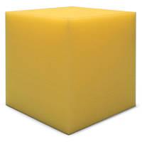 Бас пастка Ecosound КУБ кутовий 15х15х15 см Колір жовтий, фото 1