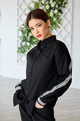 Рубашка 458.1 чёрного цвета