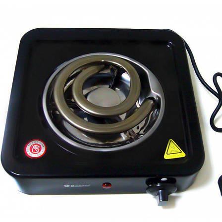 Электроплита настольная на одну конфорку 3741 Crownberg CG12 PR2, фото 2