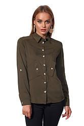 Рубашка 452.1 цвета хакки