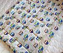 """Одеяло из овечьей шерсти демисезонное """"Совушки"""", фото 4"""