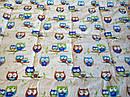 """Одеяло из овечьей шерсти демисезонное """"Совушки"""", фото 7"""