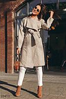 Приталенное кашемировое пальто XS,S,M,L