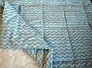 Одеяло из овечьей шерсти демисезонное Зиг-заг, фото 5