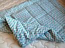 Одеяло из овечьей шерсти демисезонное Зиг-заг, фото 7