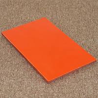 Накладки Микарта  № 92073 черно-оранжевый 4х80х130 мм