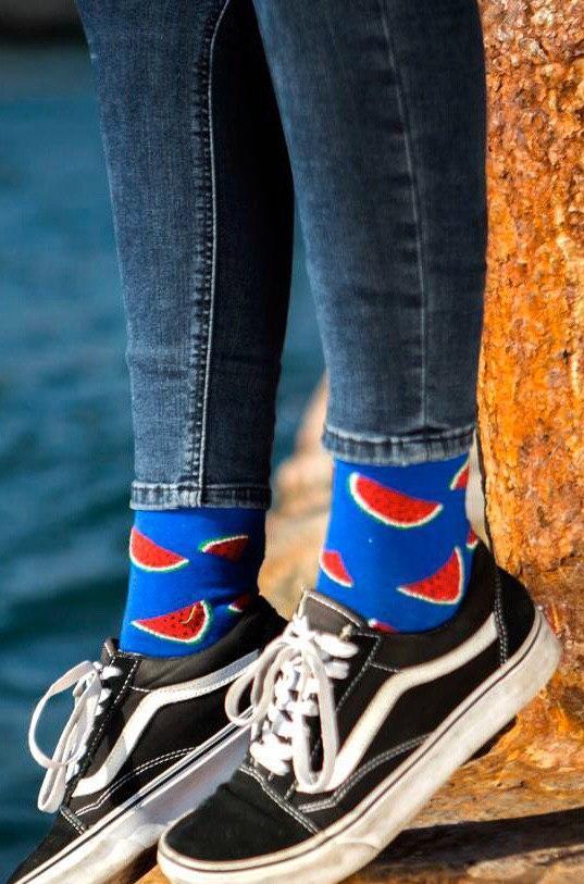 Детские носочки для мальчика Athletic Турция Арбуз Синий