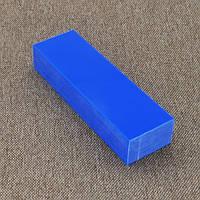 Брусок Микарта № 95060 синт.ткань темно-голубой 25х40х130 мм.