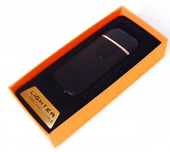 Беспламенная спиральная электрическая USB зажигалка ZGP 5
