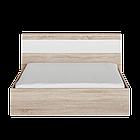 Кровать Соната 1400 Эверест Дуб сонома/белый, фото 2