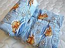 """Одеяло из овечьей шерсти демисезонное """"Мишка"""", фото 3"""