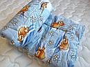 """Одеяло из овечьей шерсти демисезонное """"Мишка"""", фото 7"""